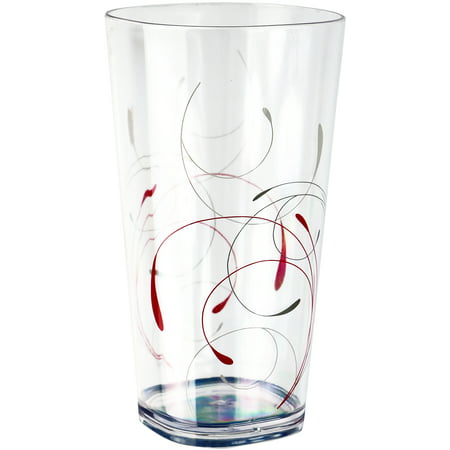Corelle Coordinates Splendor - 19oz Acrylic Iced-tea Glass Set of 6 ()