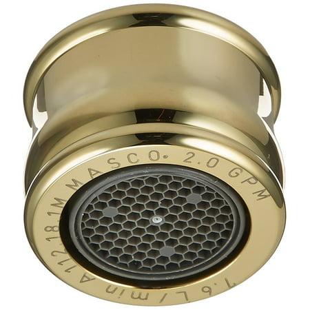 ac93fd7b3df Delta Faucet RP18454PB 2.2 GPM Aerator