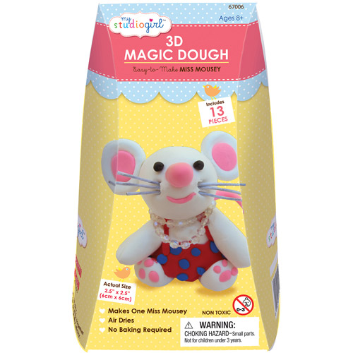 My Studio Girl 3D Magic Dough, Miss Mousey