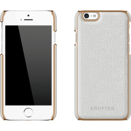 fc85867ed4f149 Leather Wrap Case Apple iPhone 6s 6 in White Gold - Walmart.com
