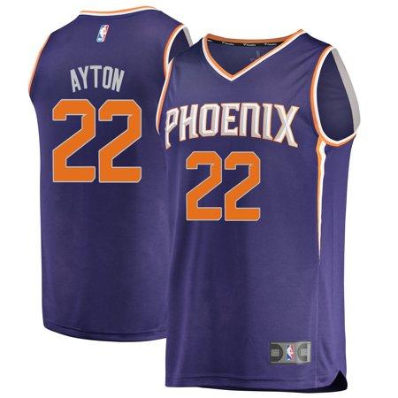 Deandre Ayton Phoenix Suns Fanatics Branded 2018 NBA Draft First Round Pick Fast Break Replica Jersey Purple - Icon