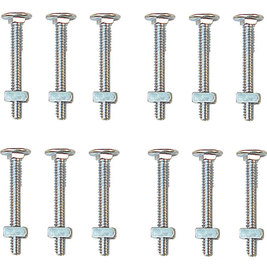 Prime Line GD52103 Carriage Bolts with Nuts