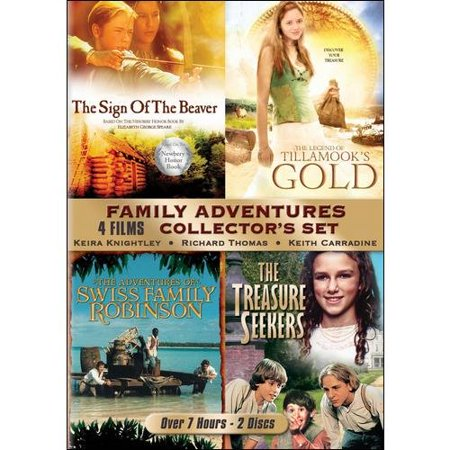 Family Animal Adventures Collector's Set: The Adventures Of Swiss Family Robinson / The Sign Of The Beaver / The Treasure Seekers / The Legend Of Tillamook's Gold