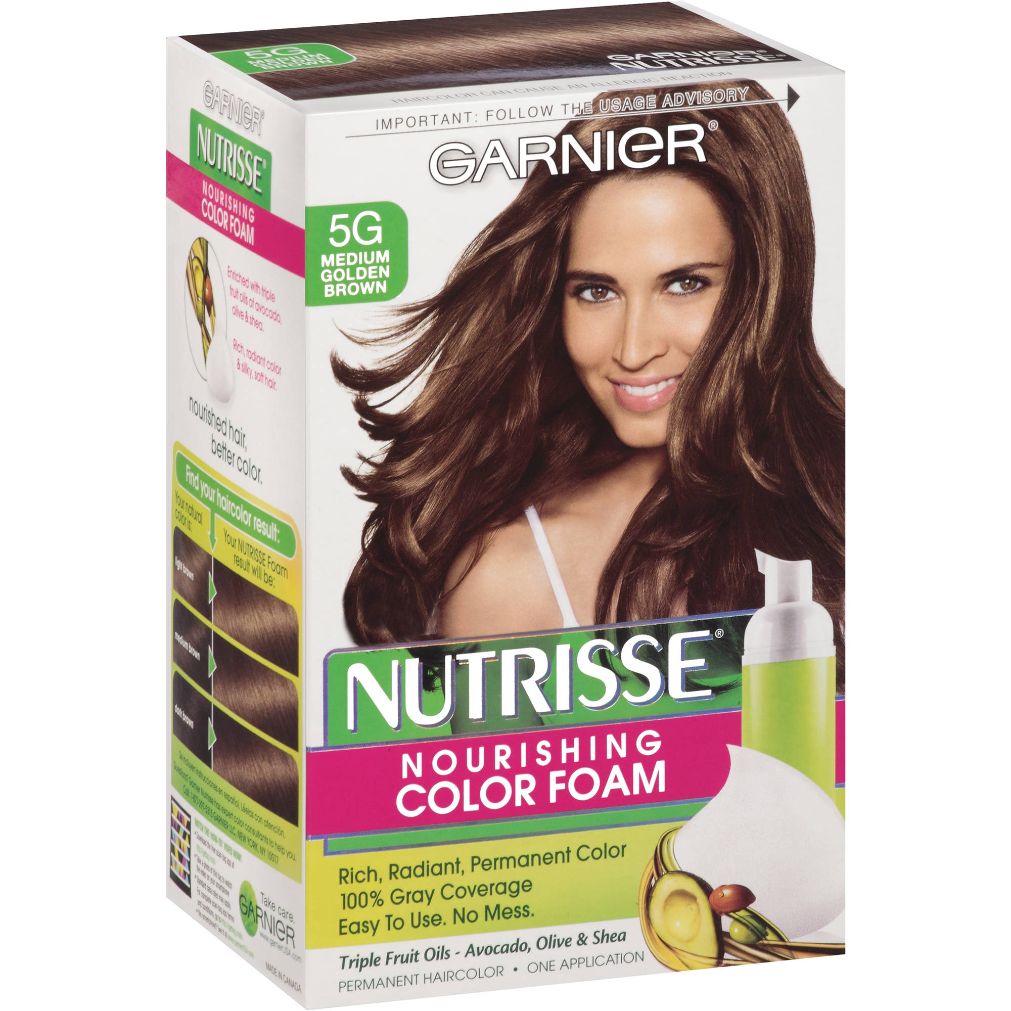 Garnier Nutrisse Permanent Haircolor 1 Ea Walmart