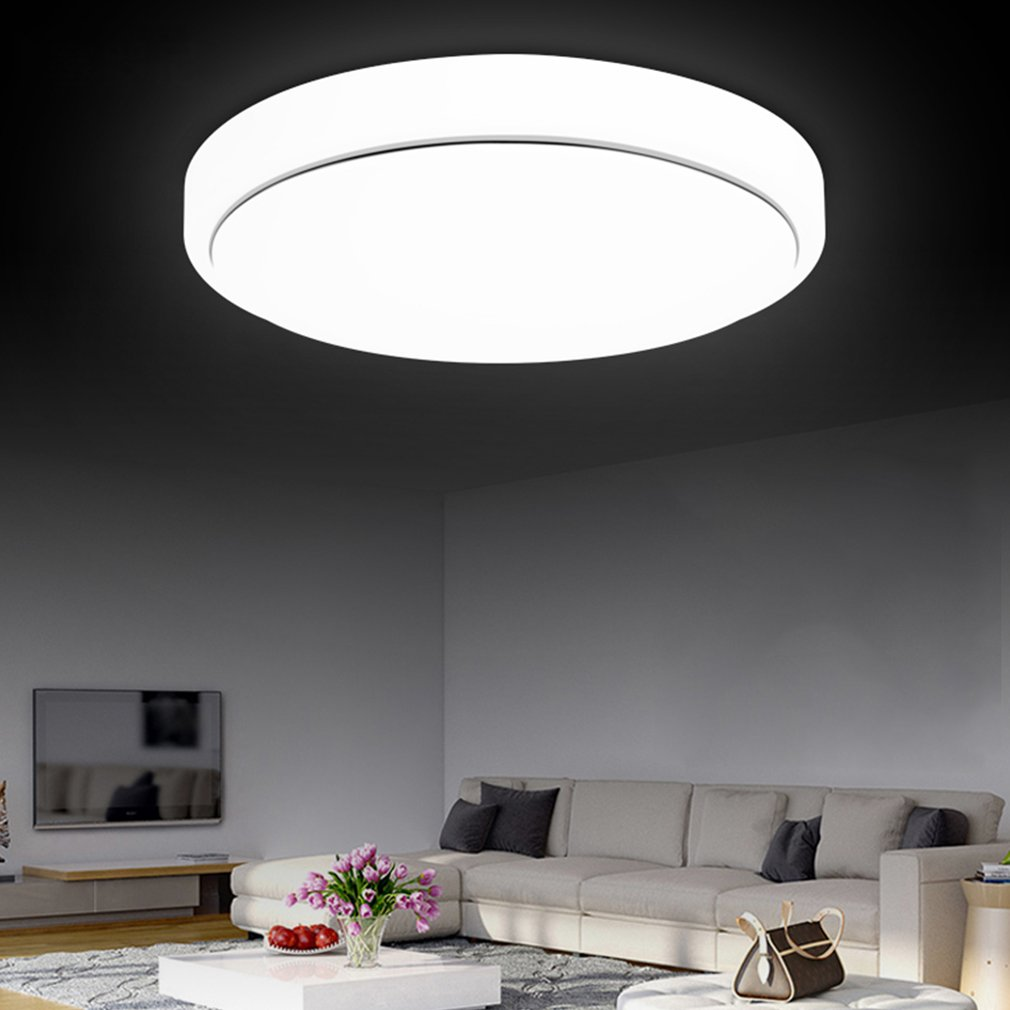 18W LED Ceiling Light Round Fixture Lamp Bedroom Kitchen Indoor Lighting by konxa