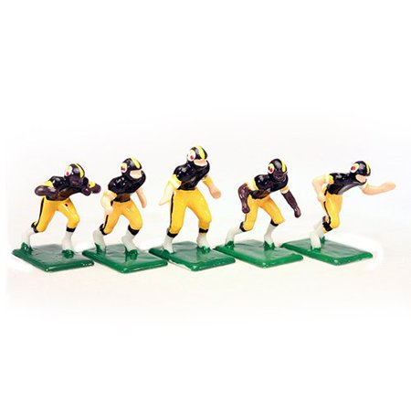 NFL Home Jersey-Pittsburgh Steelers Hand Painted 11 Electric Football Players 3.5 Acrylic Football Player