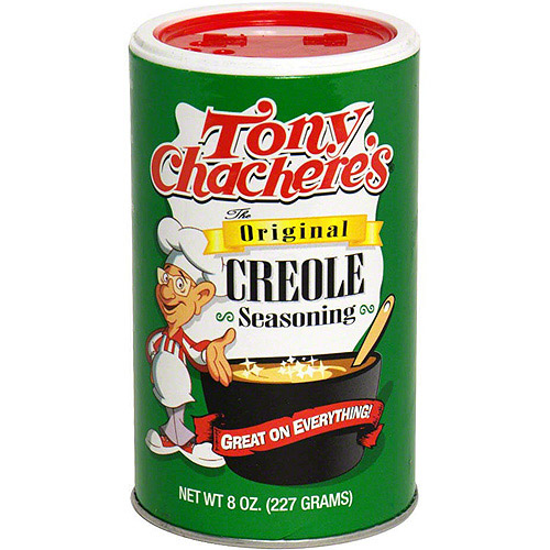 Tony Chachere's Famous Creole Cuisine Original Creole Seasoning, 8 oz (Pack of 6)