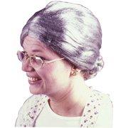 Granny Gray Wig Adult Halloween Accessory