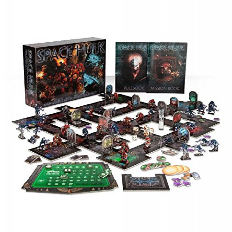 Space Hulk Board Game (2009) Games Workshop Limited Re-release by