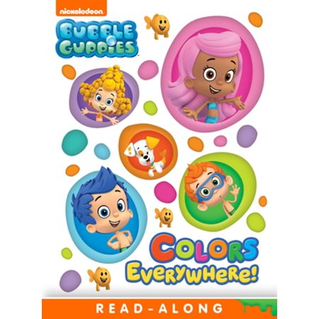 Colors Everywhere (Bubble Guppies) - eBook](Bubble Guppies Stickers)