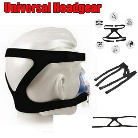 - 2PCS Headgear Replacement Head Band For Respironics CPAP Ventilator Mask Breath Machine 58cm*14cm