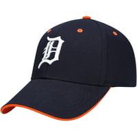 Youth Navy Detroit Tigers Money Maker Adjustable Hat - OSFA