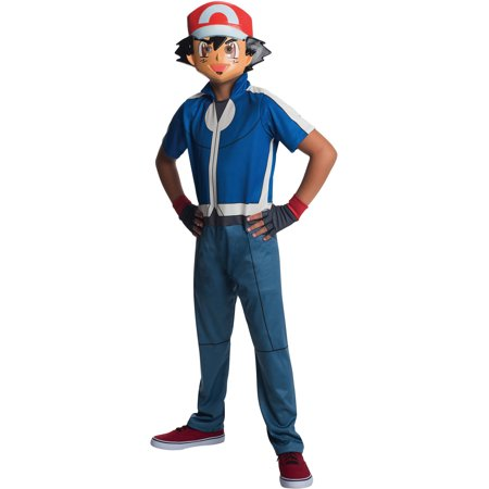 Pokemon Ash Child Costume (Ash Cosplay Pokemon)
