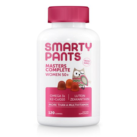 Smartypants Masters Complete Women 50   Multivitamin Gummy  120 Ct
