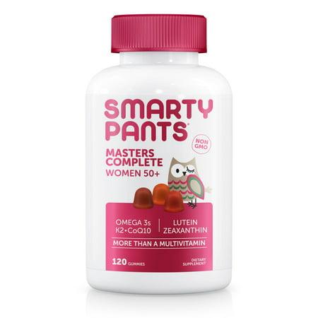 SmartyPants Masters Complete Women 50+, Multivitamin Gummy, 120 ct