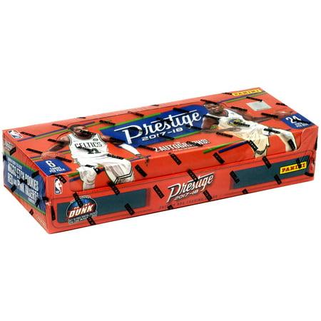 - NBA 2017-18 Prestige Trading Card HOBBY Box [24 Packs]