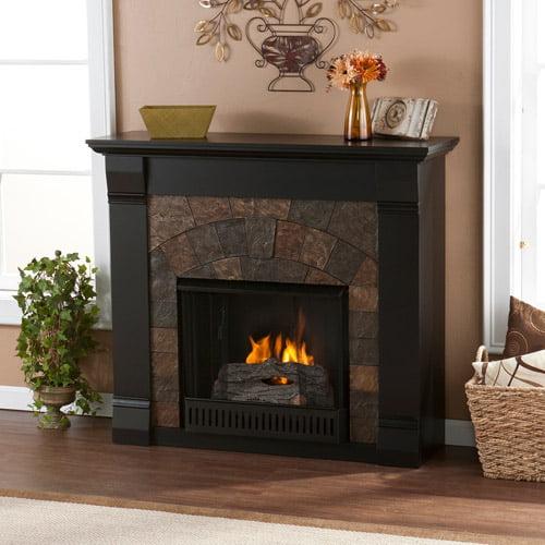 Kareem  Fireplace, Black**BOX 1
