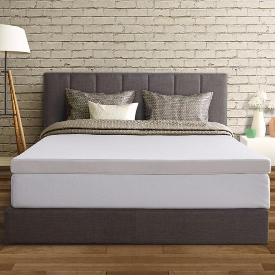 best price mattress 3 inch memory foam mattress topper with cover twin. Black Bedroom Furniture Sets. Home Design Ideas