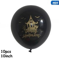 KABOER Halloween Party Balloon Window Decoration Holiday Decoration Photo Balloon Printing Balloon Set