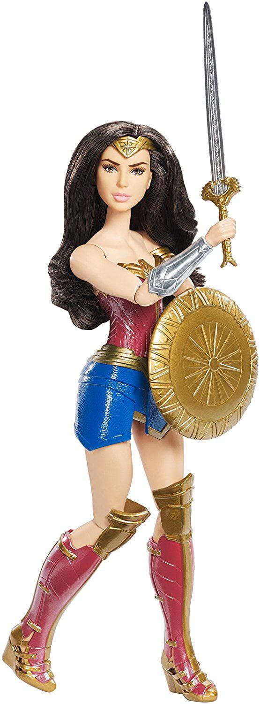 DC Comics Shield Block Wonder Woman Fashion Doll, Superman Shield True Caped Sticker... by