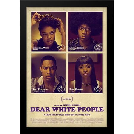 Dear White People 28X36 Large Black Wood Framed Movie Poster Art Print