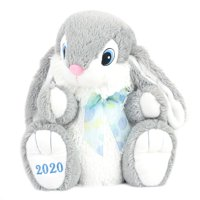 Way to Celebrate Gray Hopster Bunny 2020 Plush