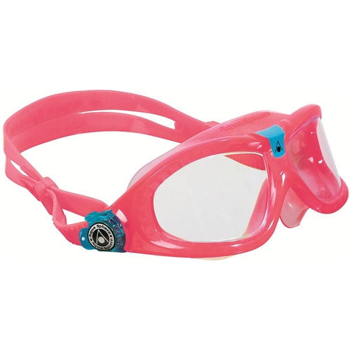 Seal Kid Red Obsession Goggles, Clear Lens by Aqua Lung America