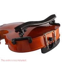 Adjustable Universal Type Violin Shoulder Rest Plastic EVA Padded for 3/4 & 4/4 Fiddle Violin