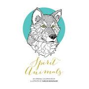 Spirit Animals : An Original Coloring Book