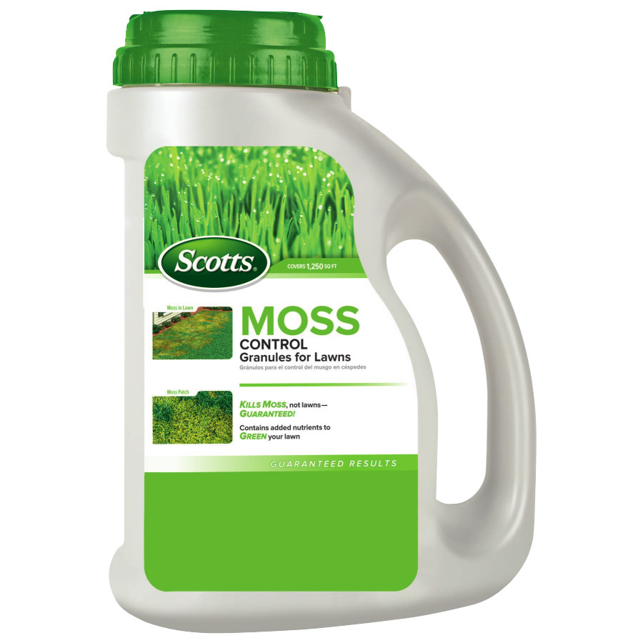 Scotts Moss Control Granules - 1,250 Sq Ft
