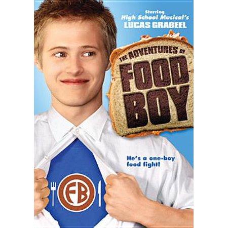 The Adventures of Food Boy (DVD) - Boys Food