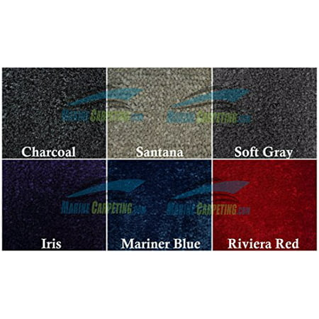 Sea Ray 185 Bowrider - 1997-2002 Sea Ray 230 Bowrider (Standard) 3-Piece 40 oz. Replacement Carpet Set