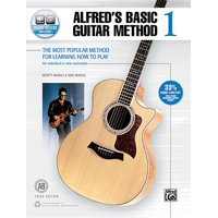 Alfred's Basic Guitar Method, Bk 1: The Most Popular Method for Learning How to Play, Book & Online Audio (Paperback)
