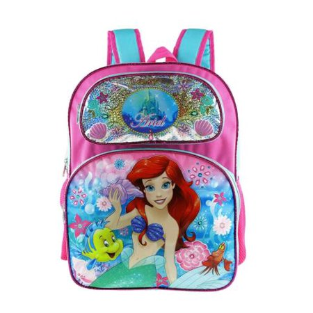 "Backpack - Disney - Princess Ariel Large 16"" New 001421 - image 2 de 2"
