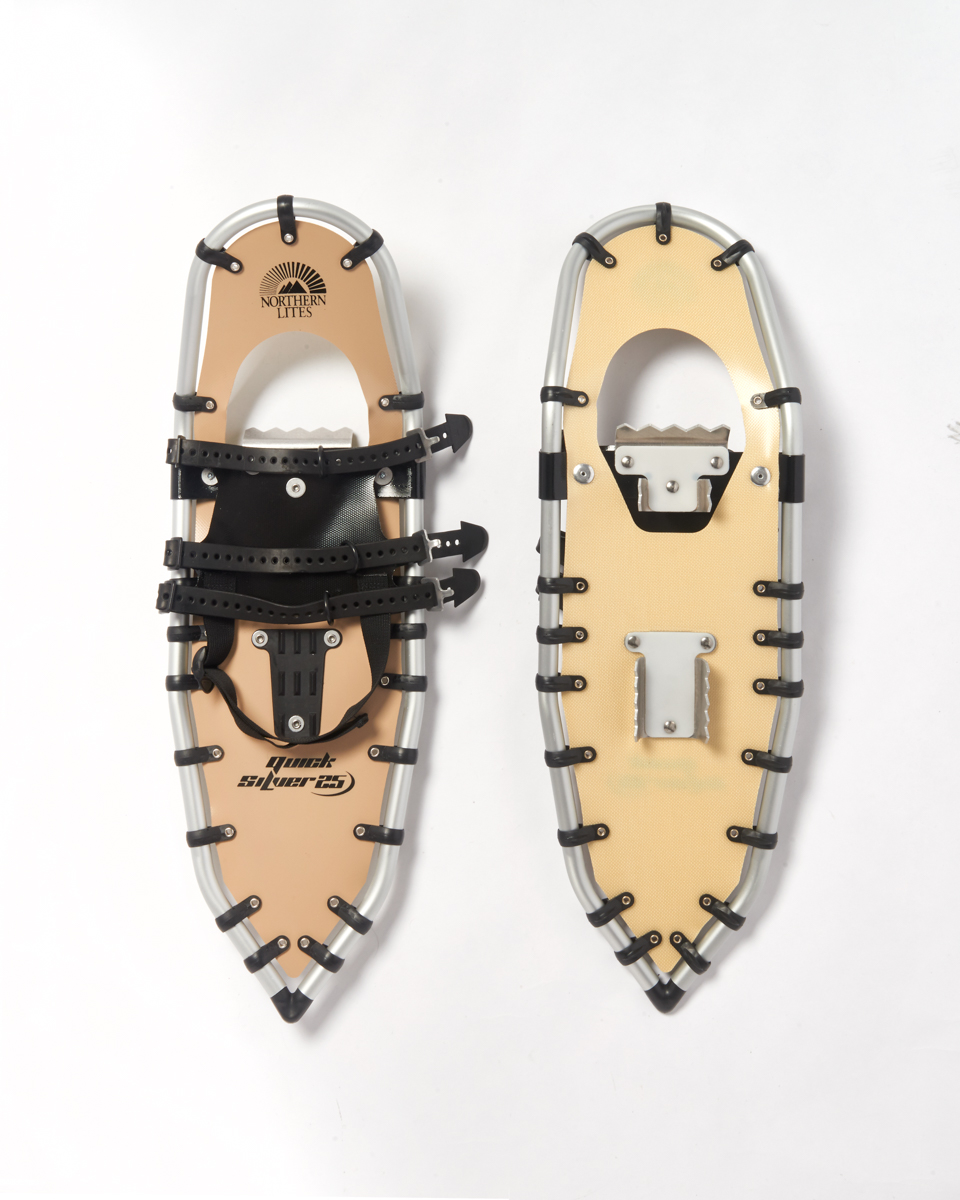 Northern Lites Snowshoes Recreational QuickSilver 25, 1 pair by Supplier Generic