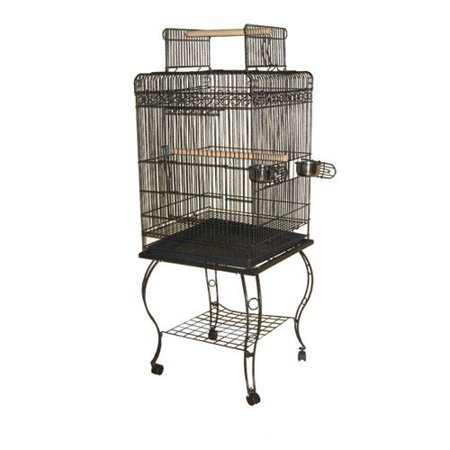 A and E Cage Co. Opening Playtop Bird Cage - Medium Playtop Birdcage