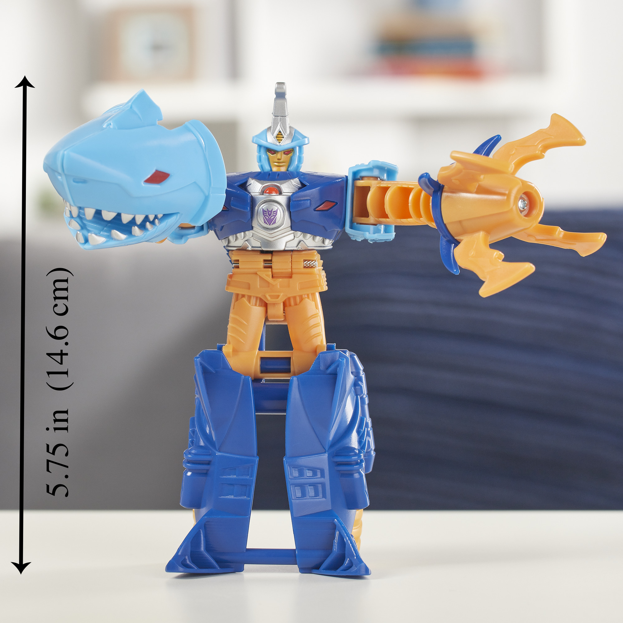 Transformers cyberverse 1-Step Changer Sky-byte Action Figure