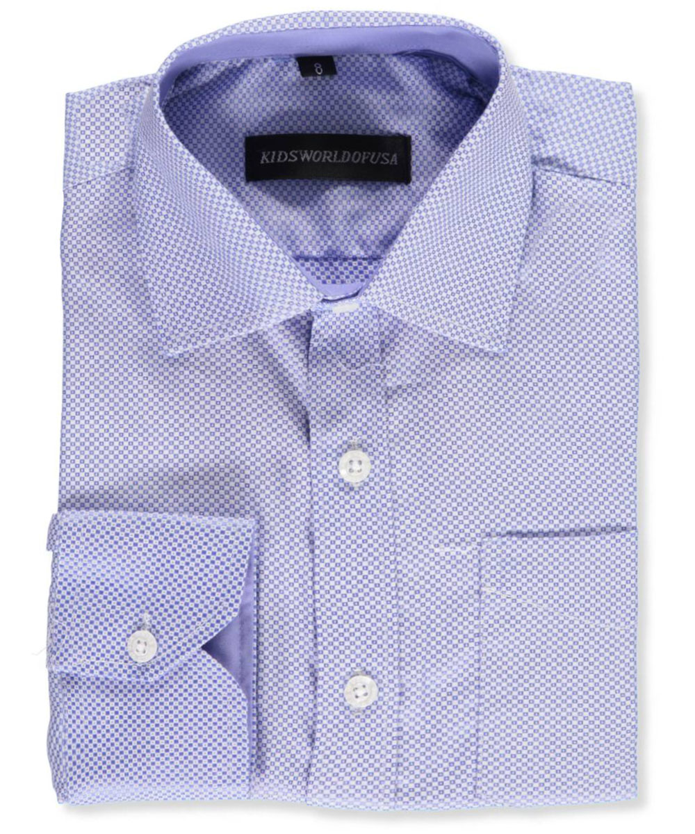 Big Boys' Dress Shirt (Sizes 8 - 20)