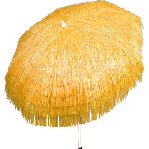 Palapa Tiki Umbrella 6 Foot Patio Umbrella Pole Palapa 6u0027  Natural/Cream