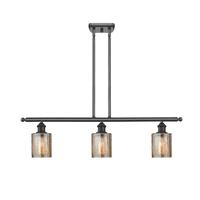 """Innovations Lighting 516-3I Cobbleskill Cobbleskill 3-Light 36"""" Wide Linear Chandelier"""