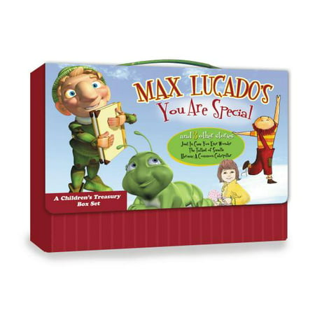 Max Lucado's You Are Special and 3 Other Stories : A Children's Treasury Box Set (Good Children's Halloween Stories)