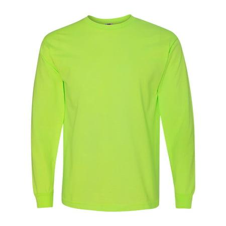 5060 Adult Classic Preshrunk Open End Full Cut T-Shirt - Lime Green - 4X-Large