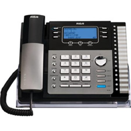 RCA 25424RE1 SOHO Series 4-Line Expandable Corded Business Telephone with Speakerphone and Call Waiting Caller