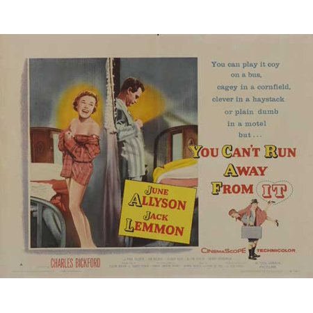 You Can't Run Away From It - movie POSTER (Half Sheet Style B) (22