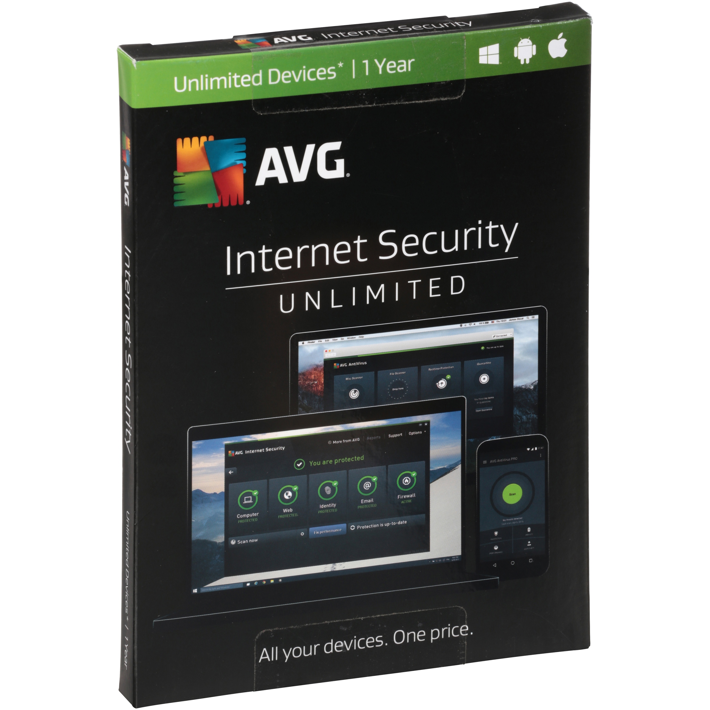 AVG® Internet Security Unlimited Software