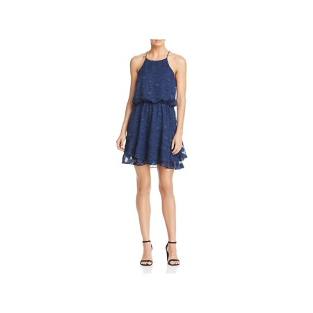 Cooper & Ella Womens Carla Ruffled Blouson Party Dress