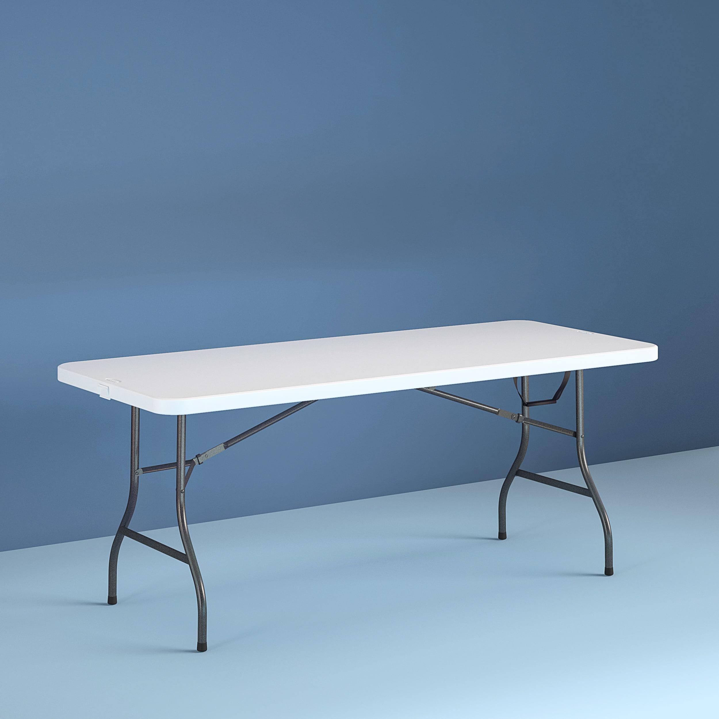 - Cosco 8 Foot Centerfold Folding Table, White - Walmart.com
