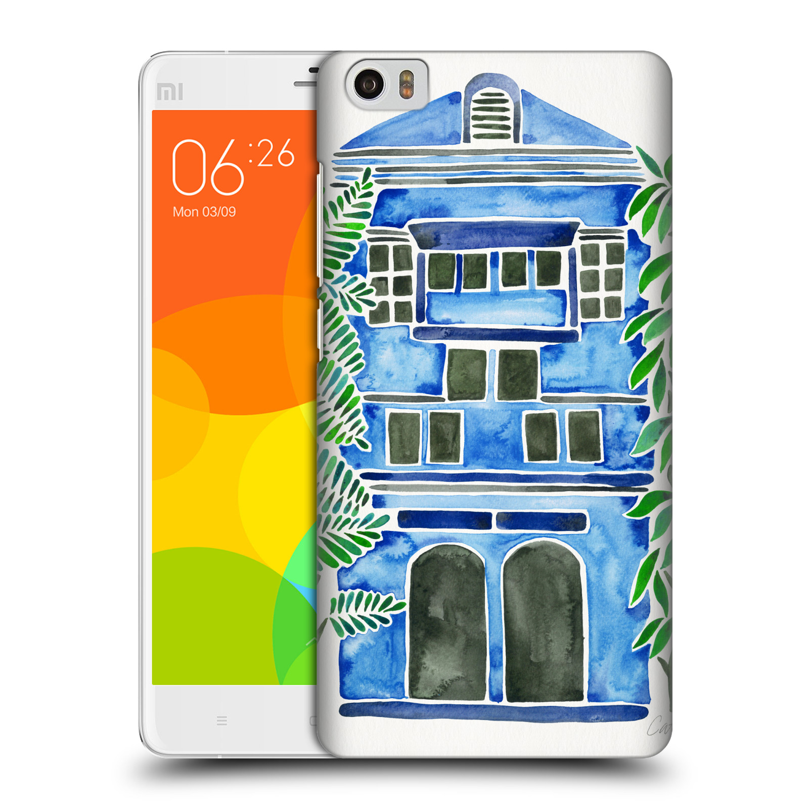 OFFICIAL CAT COQUILLETTE BUILDINGS HARD BACK CASE FOR XIAOMI PHONES