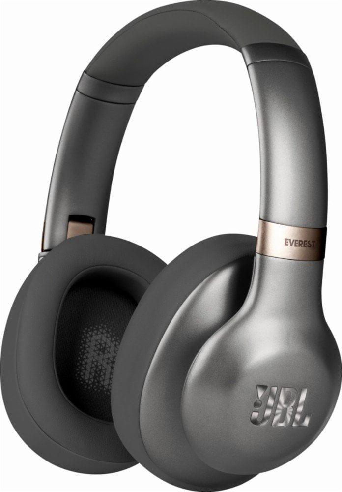 JBL Everest 710 Wireless Over-Ear Headphones with Built-In Mic (Gunmetal) by JBL