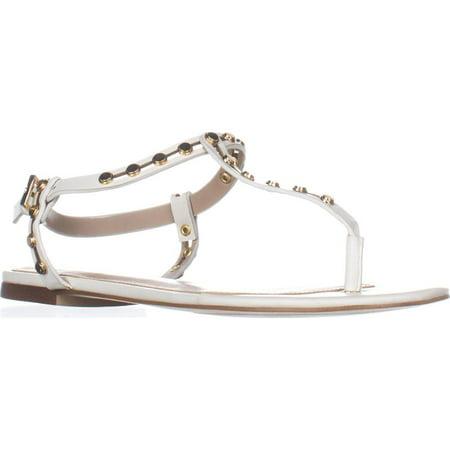 Womens Starda Flats Sandal, White (Aldo Flats Black)